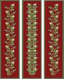 floral κατακόρυφος στοιχείω&n ελεύθερη απεικόνιση δικαιώματος