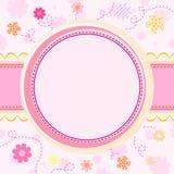 floral κατσίκι ανασκόπησης Στοκ Εικόνες