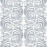 Floral κατ'ευθείαν γραμμή υπόβαθρο Στοκ Εικόνες