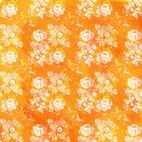 floral κεραμίδι Στοκ εικόνα με δικαίωμα ελεύθερης χρήσης
