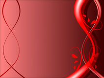 floral κόκκινο ανασκόπησης Στοκ εικόνες με δικαίωμα ελεύθερης χρήσης