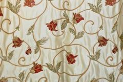 floral λινό Στοκ εικόνες με δικαίωμα ελεύθερης χρήσης