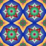 floral μεξικάνικο πρότυπο άνευ &rh Στοκ φωτογραφία με δικαίωμα ελεύθερης χρήσης