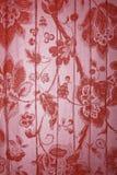 floral μεταλλικό κόκκινο ανασ Στοκ Εικόνες
