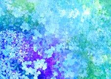 floral ορισμένος εικόνα τρύγο&sigmaf Στοκ Εικόνες