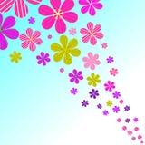 Floral ουρανός Στοκ φωτογραφία με δικαίωμα ελεύθερης χρήσης