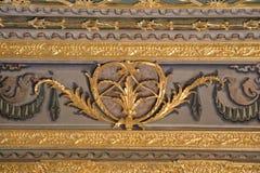 Floral παράδειγμα σχεδίων τέχνης του οθωμανικού χρόνου Στοκ Εικόνες