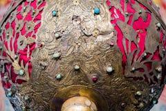 Floral παράδειγμα σχεδίων τέχνης του οθωμανικού χρόνου Στοκ Φωτογραφίες