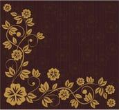 floral παραδοσιακό διάνυσμα ύφ&o Στοκ Εικόνες