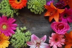 floral πλαίσιο αρκετά Στοκ εικόνα με δικαίωμα ελεύθερης χρήσης