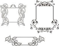 floral πλαίσιο διακοσμήσεων &del ελεύθερη απεικόνιση δικαιώματος