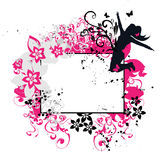 floral πλαίσιο Στοκ Εικόνες
