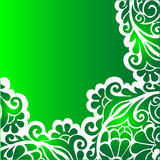 floral πράσινος ανασκόπησης Στοκ φωτογραφία με δικαίωμα ελεύθερης χρήσης