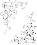 floral πρότυπα Στοκ εικόνα με δικαίωμα ελεύθερης χρήσης