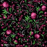 floral πρότυπο άνευ ραφής επίσης corel σύρετε το διάνυσμα απεικόνισης Στοκ Εικόνα