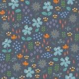 floral πρότυπο άνευ ραφής Η φωτεινή απεικόνιση, μπορεί Στοκ Εικόνες