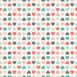floral πρότυπο άνευ ραφής Κόκκινος, πράσινος, μαύρος και Στοκ εικόνα με δικαίωμα ελεύθερης χρήσης