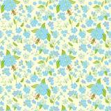 floral πρότυπο άνευ ραφής απεικόνιση αποθεμάτων