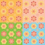 floral πρότυπο άνευ ραφής Στοκ Φωτογραφία