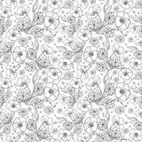 floral πρότυπο άνευ ραφής Στοκ φωτογραφίες με δικαίωμα ελεύθερης χρήσης