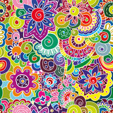 floral πρότυπο άνευ ραφής Στοκ Εικόνες