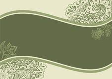 floral πρότυπο ανασκοπήσεων απεικόνιση αποθεμάτων