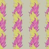 floral πρότυπο ανασκόπησης άνε&upsilon Θέμα φύσης, φύλλα, χέρι - συρμένα αφηρημένα στοιχεία Στοκ εικόνες με δικαίωμα ελεύθερης χρήσης