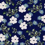 floral πρότυπο ανασκόπησης άνε&upsilon Στοκ Φωτογραφίες