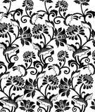 floral πρότυπο ανασκόπησης Στοκ Εικόνες