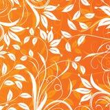 Floral πρότυπο, διάνυσμα Στοκ Εικόνα