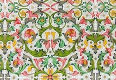 floral πρότυπο δονούμενο Στοκ Φωτογραφίες
