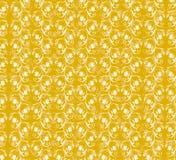 floral πρότυπο κίτρινο απεικόνιση αποθεμάτων