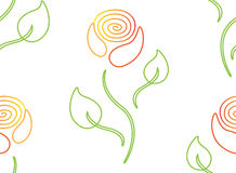 floral πρότυπο καρδιών λουλουδιών απελευθέρωσης πεταλούδων κίτρινο Στοκ εικόνα με δικαίωμα ελεύθερης χρήσης
