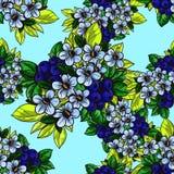 floral πρότυπο καρδιών λουλουδιών απελευθέρωσης πεταλούδων κίτρινο Στοκ εικόνες με δικαίωμα ελεύθερης χρήσης