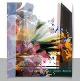 Floral πρότυπο με τη ζωηρόχρωμη psychedelic διακόσμηση Στοκ φωτογραφία με δικαίωμα ελεύθερης χρήσης