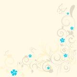 floral πρότυπο μπουκλών Ελεύθερη απεικόνιση δικαιώματος