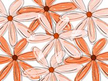 floral πρότυπο τροπικό Στοκ φωτογραφίες με δικαίωμα ελεύθερης χρήσης