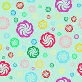 floral πρότυπο χρώματος άνευ ραφής Απεικόνιση αποθεμάτων