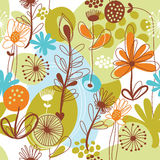 floral πρότυπο Διανυσματική απεικόνιση