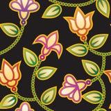 floral πρότυπο Στοκ Φωτογραφία