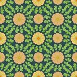 Floral πρότυπο Στοκ εικόνες με δικαίωμα ελεύθερης χρήσης
