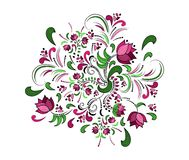 Floral πλαίσιο. Διανυσματικό υπόβαθρο watercolor. Στοκ εικόνες με δικαίωμα ελεύθερης χρήσης