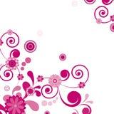 floral ροζ λουλουδιών ανασ&kapp Στοκ Φωτογραφίες