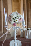 Floral ρυθμίσεις για το γάμο Στοκ Εικόνα