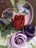 Floral ρυθμίσεις για όλους τους εορτασμούς στοκ εικόνες