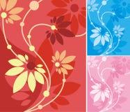floral σειρά ανασκόπησης Στοκ φωτογραφία με δικαίωμα ελεύθερης χρήσης