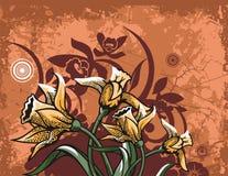 floral σειρά ανασκόπησης ελεύθερη απεικόνιση δικαιώματος