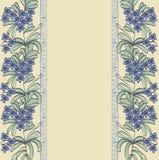 floral σειρά πλαισίων πλαισίων Στοκ φωτογραφία με δικαίωμα ελεύθερης χρήσης