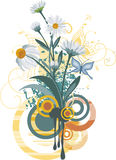 floral σειρά σχεδίου Στοκ εικόνες με δικαίωμα ελεύθερης χρήσης