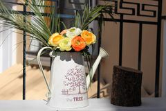 Floral σημειώσεις Στοκ φωτογραφίες με δικαίωμα ελεύθερης χρήσης